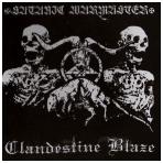 Satanic Warmaster / Clandestine Blaze - Split Digi CD