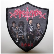 Sarcofago - INRI (Shaped) Patch