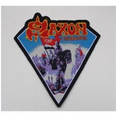 Saxon - Crusader Patch