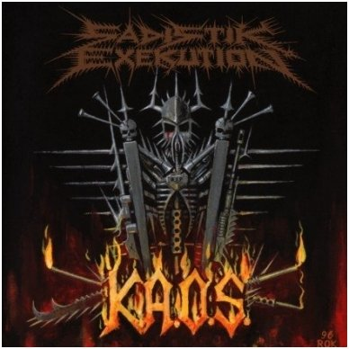 Sadistik Exekution - K.A.O.S. CD