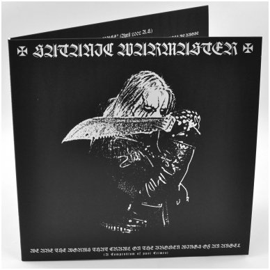 Satanic Warmaster - We Are The Worms That Crawl On The Broken Wings Of An Angel 2LP 2