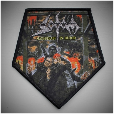 Sodom - Masquerade In Blood Patch