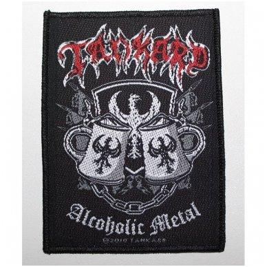 Tankard - Alcoholic Metal Patch