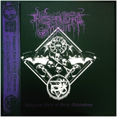 Thy Sepulchral Moon ‎- Indignant Force Of Great Malevolence LP
