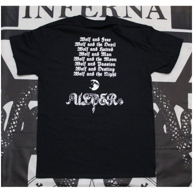 Ulver Nattens Madrigal T Shirt Merchandise Ipr666 Shop