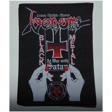 Venom - At War With Satan Patch