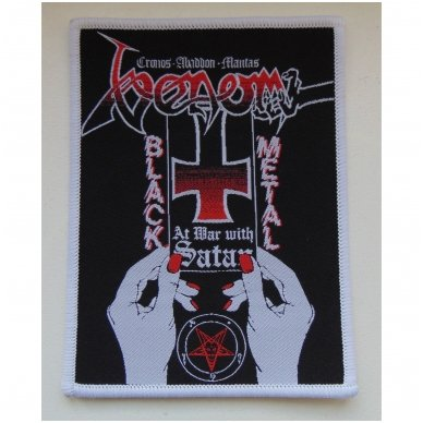 Venom - At War With Satan Patch 2