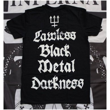Watain - Lawless Fire T-Shirt 2